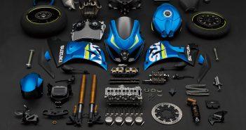 xgsx-r1000_al7_disassembled_parts