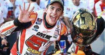 Interview mit MotoGP-Champ Marc Marquez