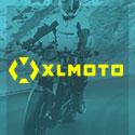 XL Moto gelb auf türkis 125x125
