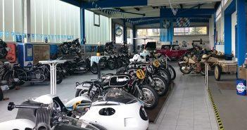 Rudolf Bald's historische BMW-Sammlung