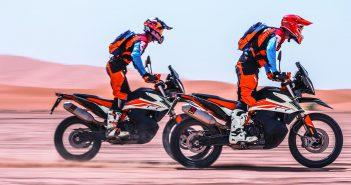 KTM 2019: 790 Adventure  + 690 SMC R