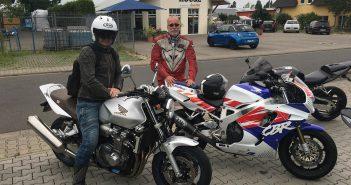Spritztour mit Honda Fireblade und CB1300