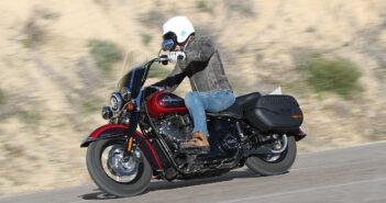 Fahrbericht: Harley Heritage Classic 114