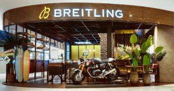 Triumph  + Breitling